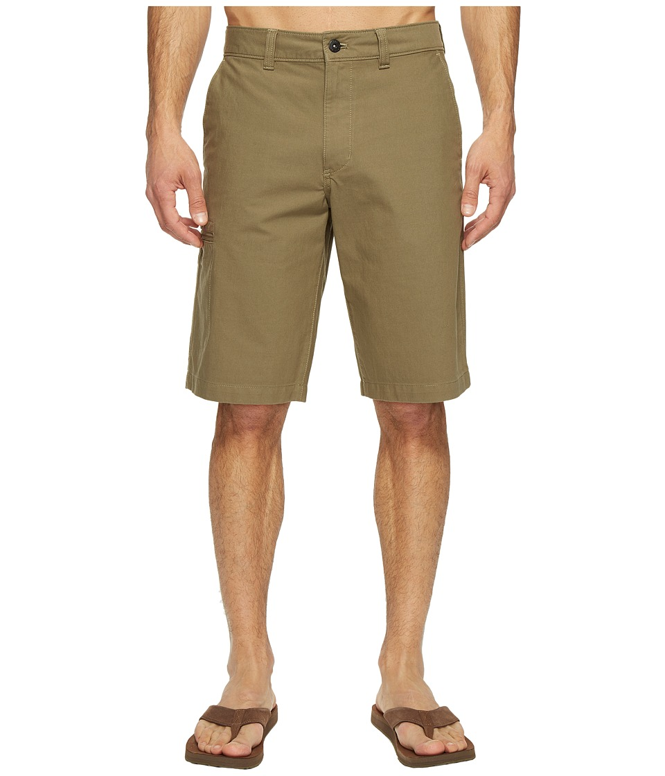 The North Face The Narrows Cargo Shorts (Burnt Olive Green) Men