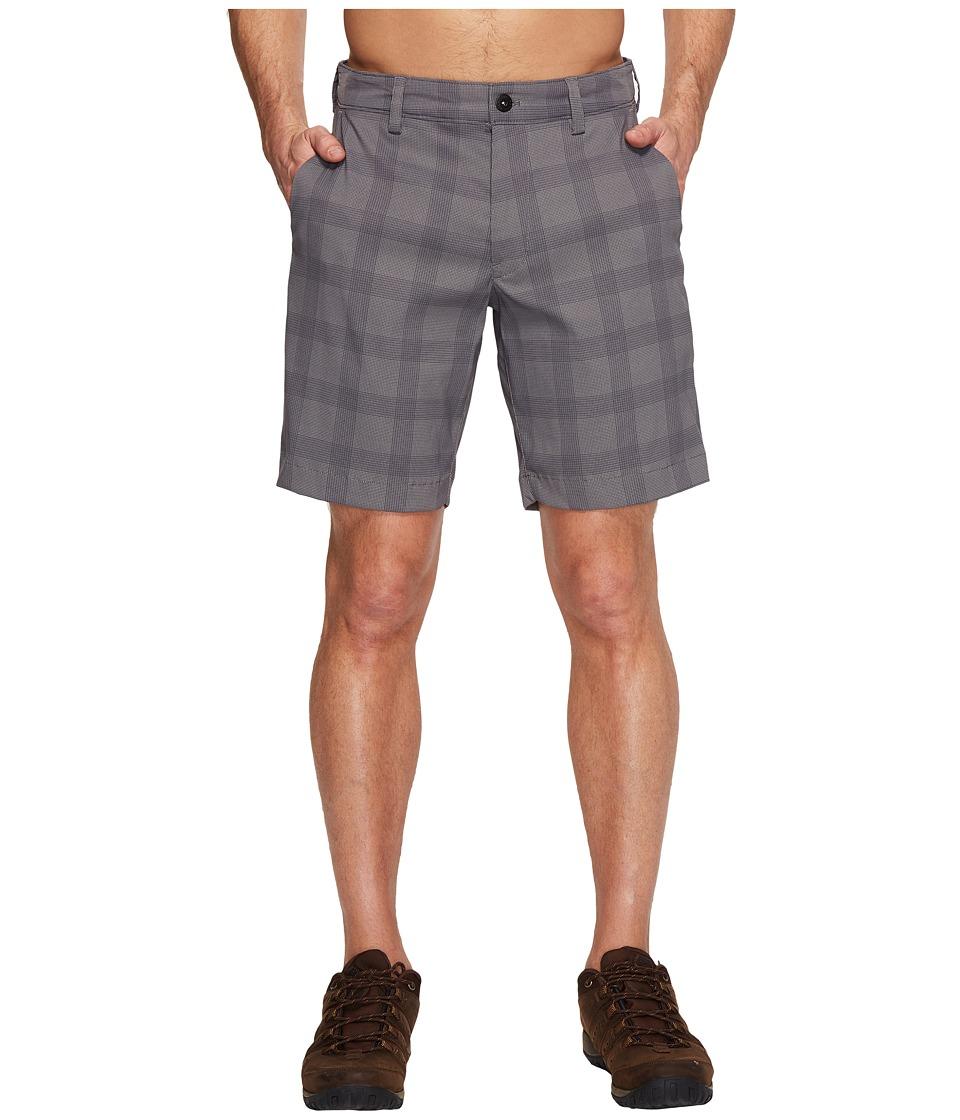 The North Face Rockaway Shorts (Zinc Grey Plaid) Men