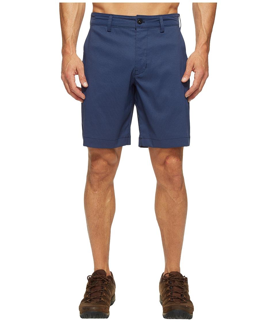 The North Face Rockaway Shorts (Shady Blue Stripe) Men