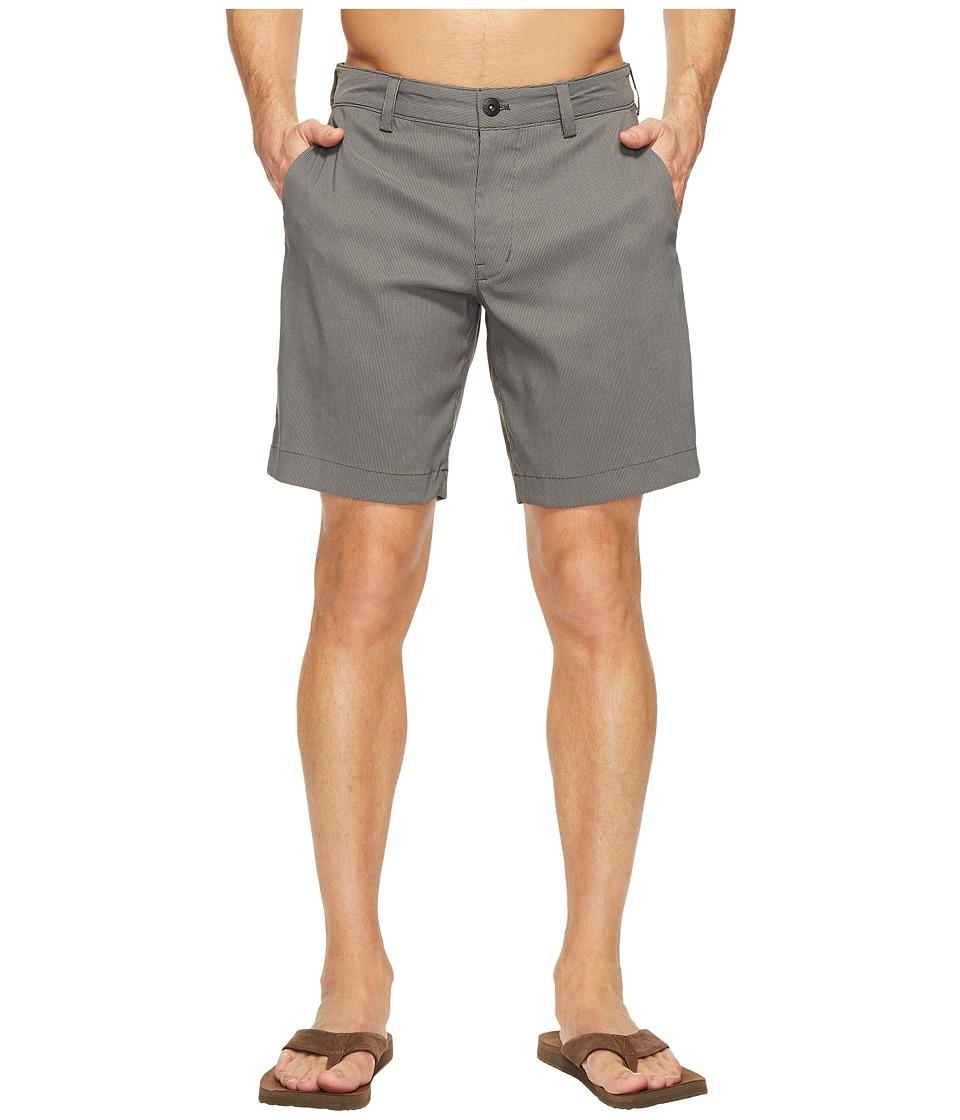 The North Face Rockaway Shorts (Asphalt Grey Stripe) Men