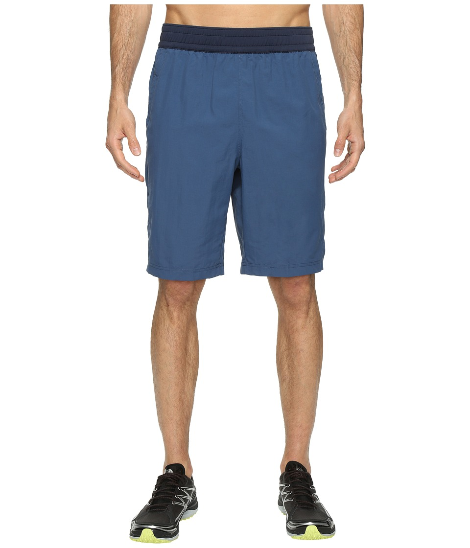 The North Face Pull-On Adventure Shorts (Shady Blue) Men