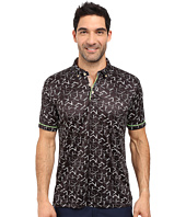 Robert Graham - Hills of Sand Short Sleeve Knit Polo