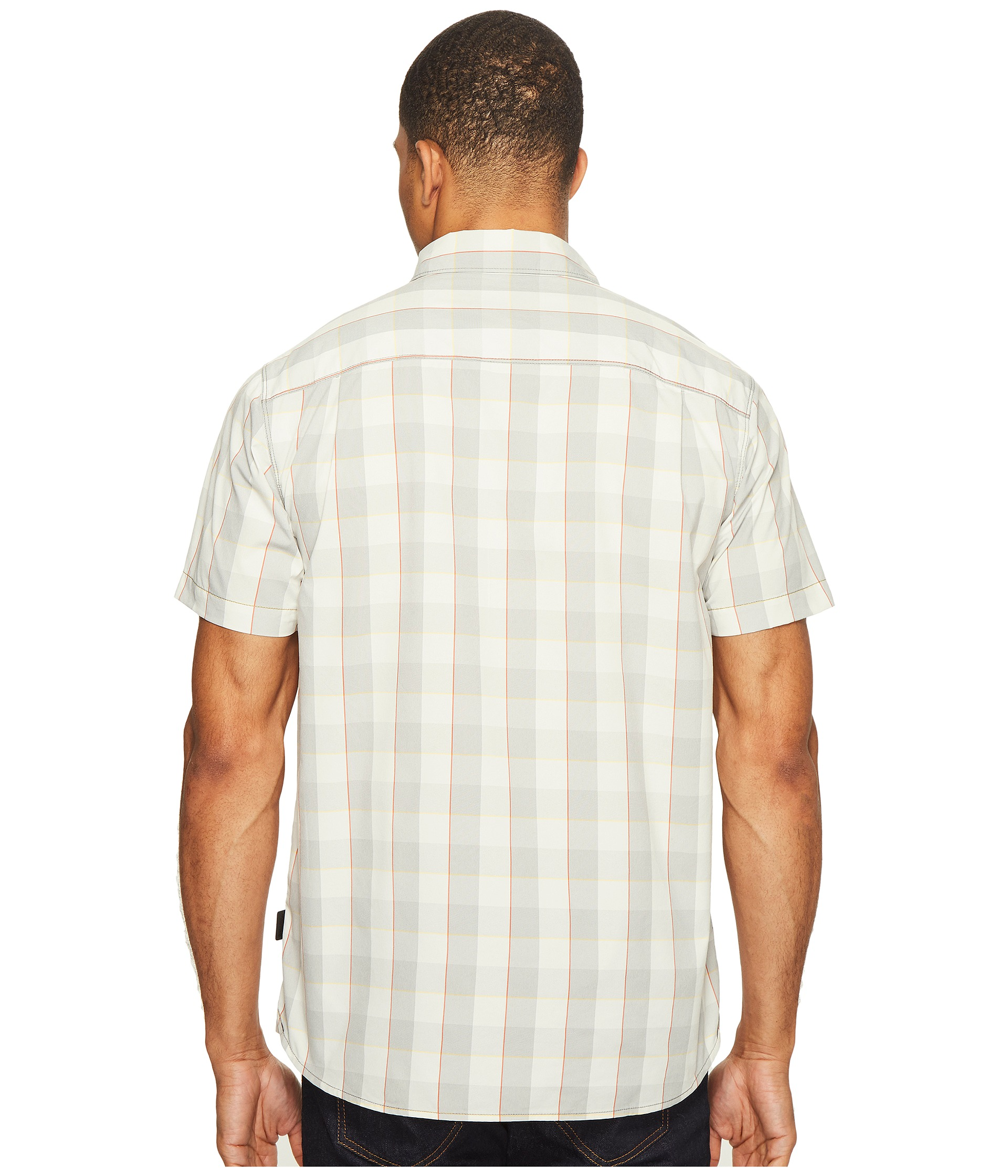 The North Face Short Sleeve Voyager Shirt High Rise Grey