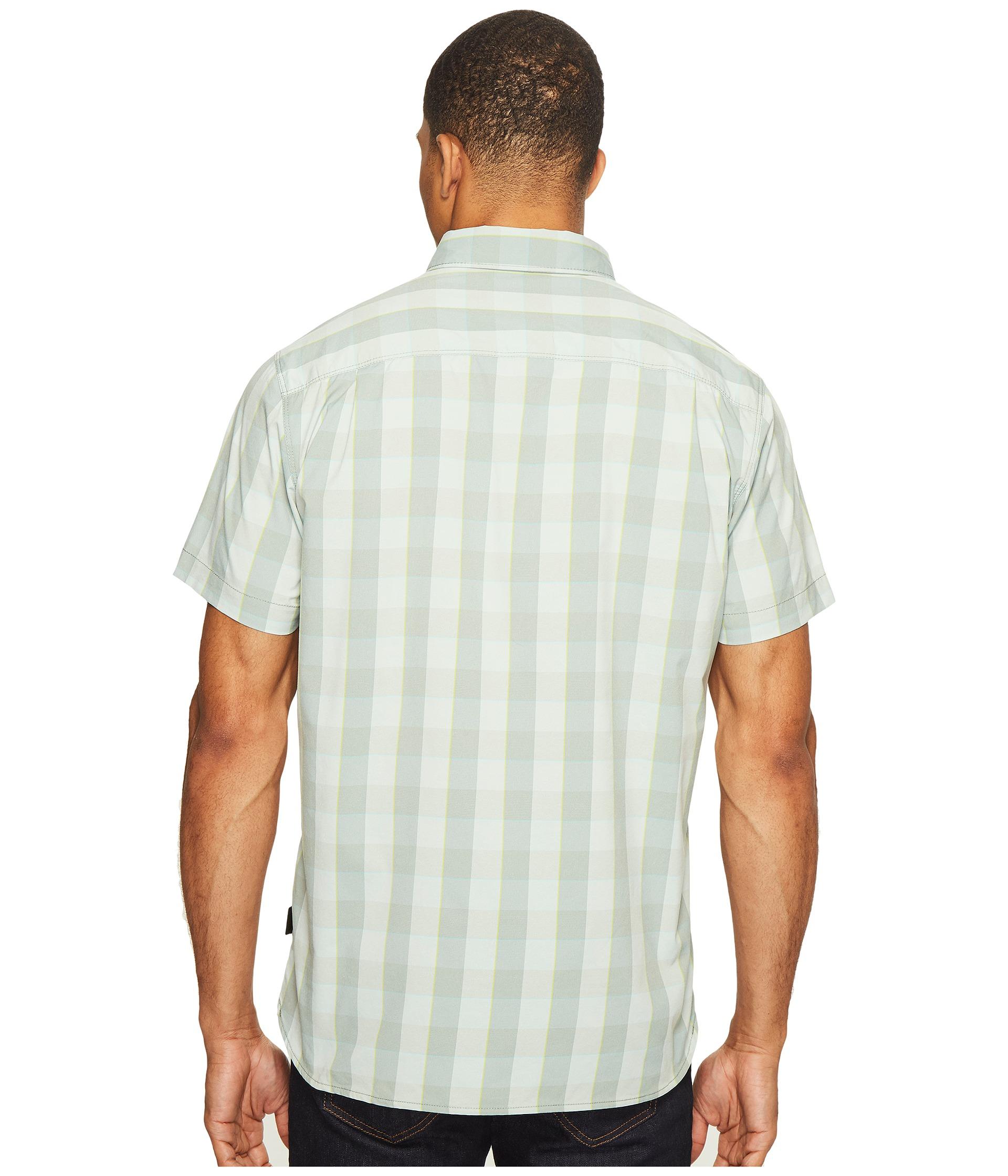 The north face short sleeve voyager shirt at for The north face short sleeve shirt