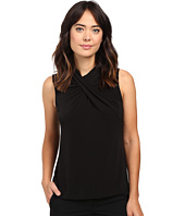 Calvin Klein - Sleeveless Top w/ Lace Yoke