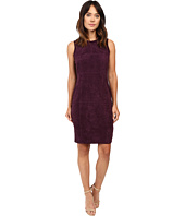 Calvin Klein - Sweater Dress w/ Suede Front