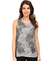 Calvin Klein - Sleeveless Heather Lace Twofer Top