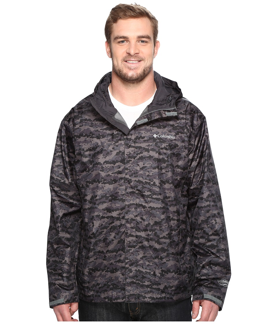 Columbia Big Tall Watertight Printed Jacket (Shark Camo) Men