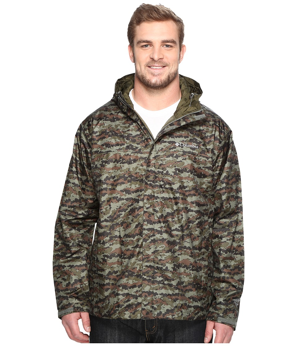 Columbia Big Tall Watertight Printed Jacket (Cypress Camo) Men