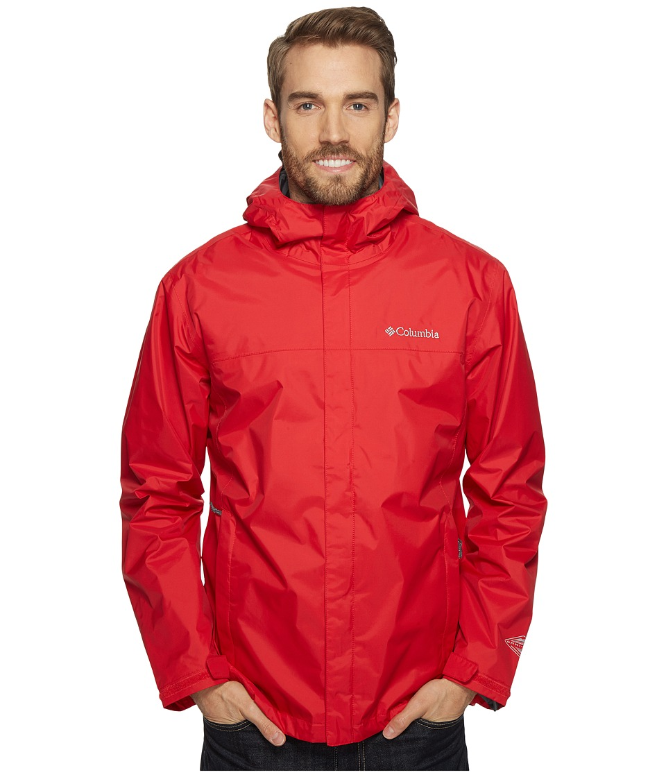 Columbia Watertight II Jacket (Mountain Red) Men