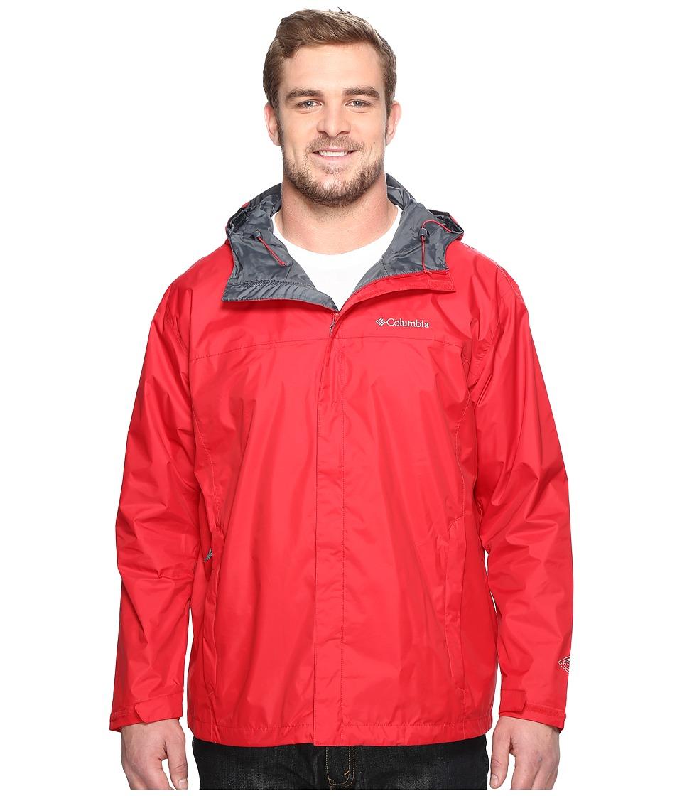 Columbia Watertight II Jacket Extended (Mountain Red) Men