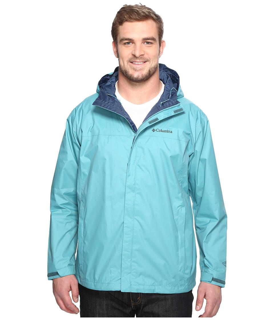 Columbia Watertight II Jacket Extended (Teal) Men