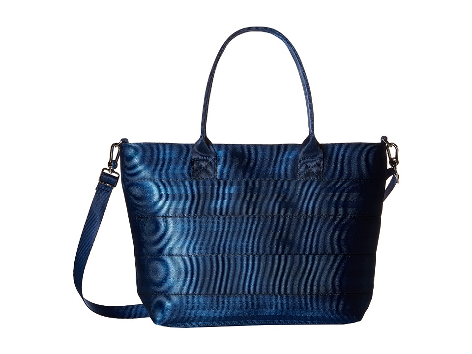 Harveys Seatbelt Bag - Mini Streamline Tote (Indigo 1) Tote Handbags