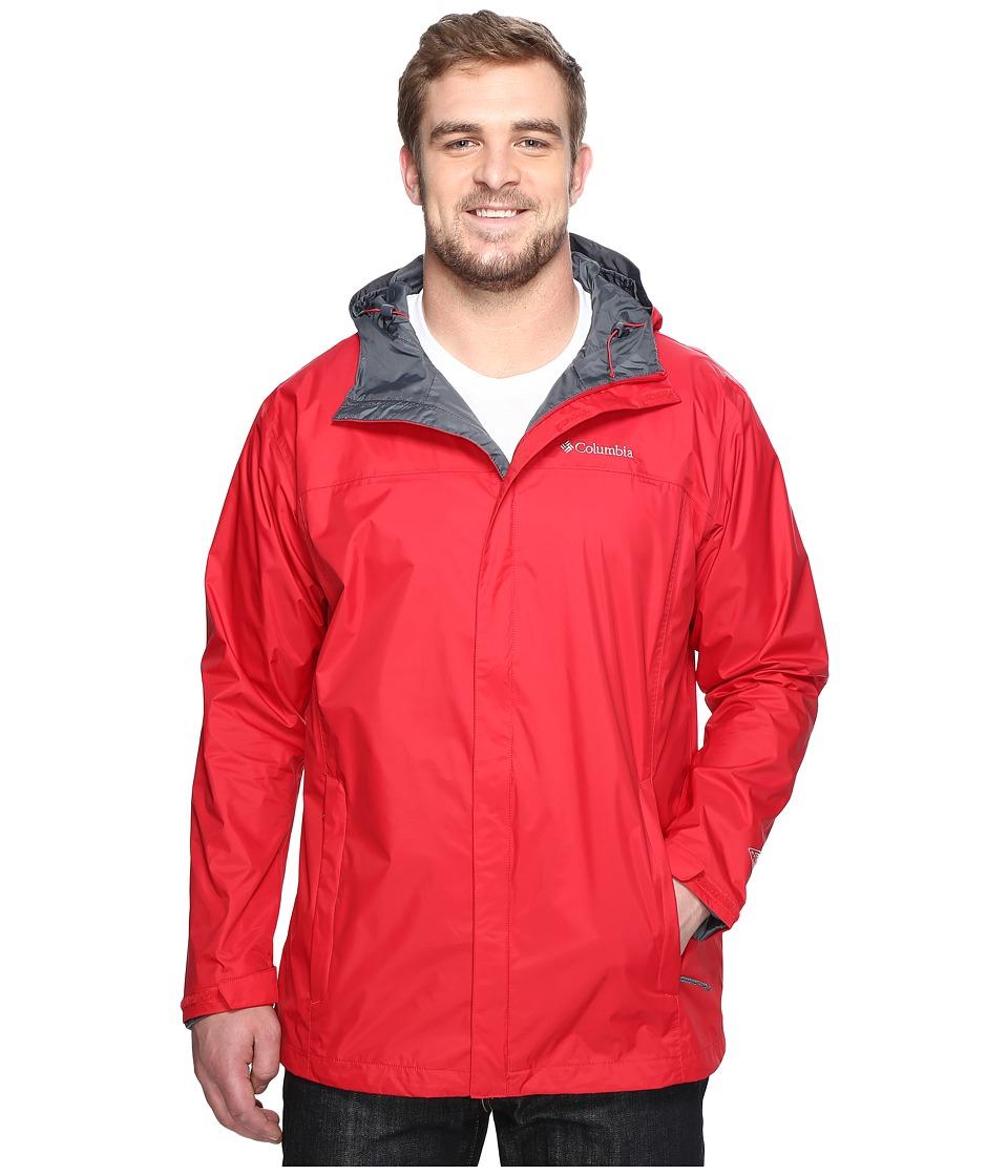 Columbia Watertight II Jacket Tall (Mountain Red) Men
