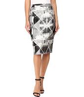 Calvin Klein - Metallic Jacquard Skirt