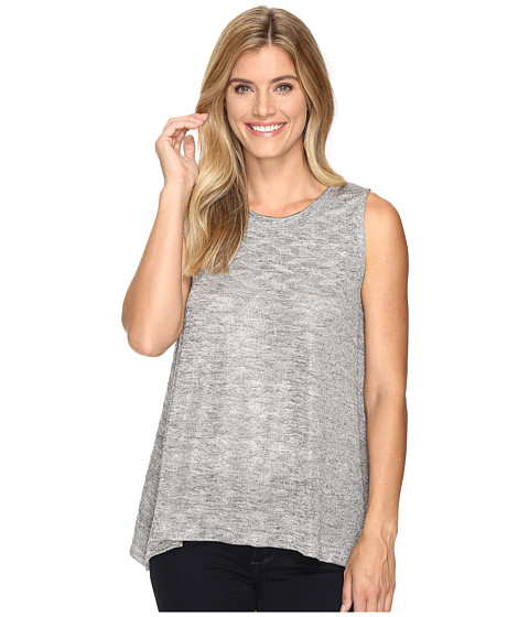 Nally & Millie Jacquard Flared Tank Top