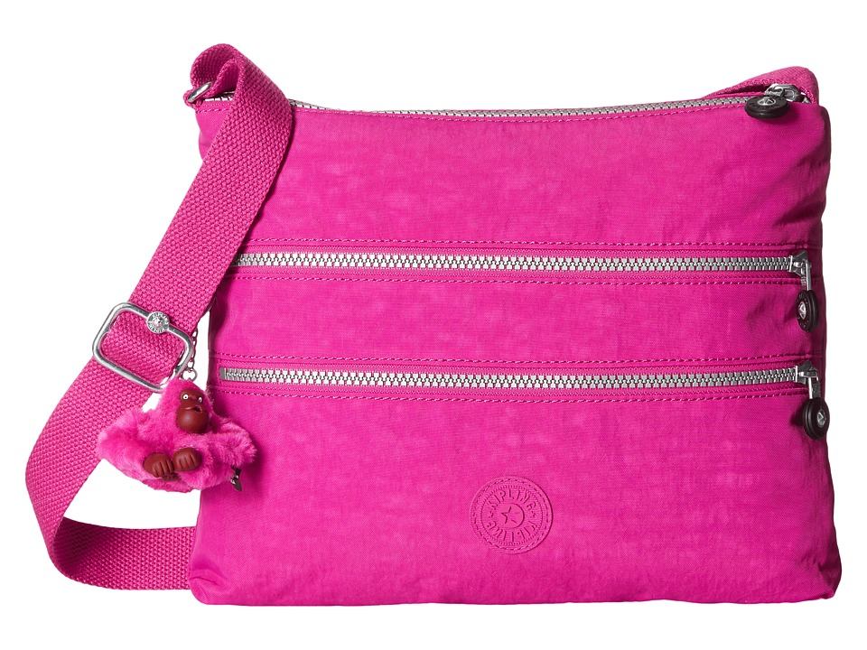 Kipling - Alvar Crossbody Bag (Very Berry) Cross Body Handbags