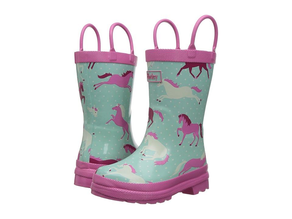 Hatley Kids - Ponies and Polka Dots Rain Boots