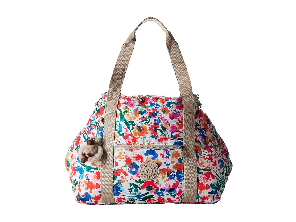 Kipling - Art M Tote (Floral Night Natural) Tote Handbags