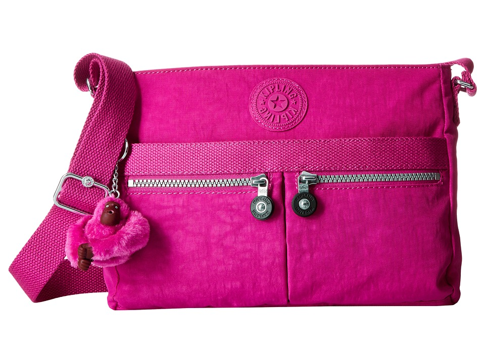 Kipling - Angie (Very Berry) Handbags