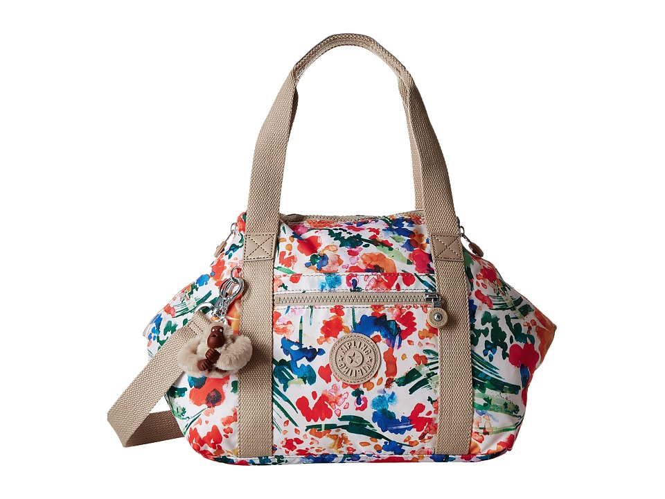 Kipling - Art U (Floral Night Natural) Shoulder Handbags