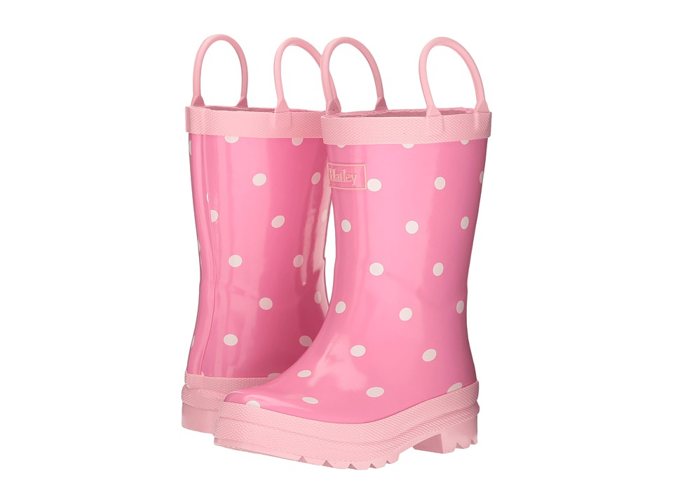 Hatley Kids White Dots Rain Boots (Toddler/Little Kid) (Multi) Girls Shoes