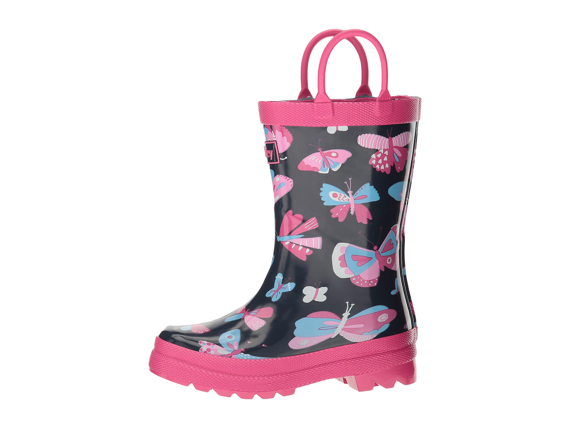 Hatley Kids Pretty Butterflies Rain Boots (Toddler/Little Kid ...