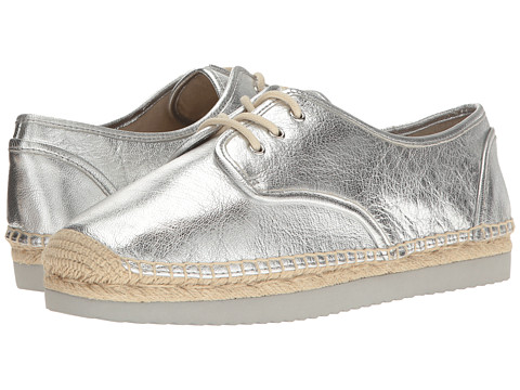 MICHAEL Michael Kors Hastings Lace-Up - Silver Metallic Nappa