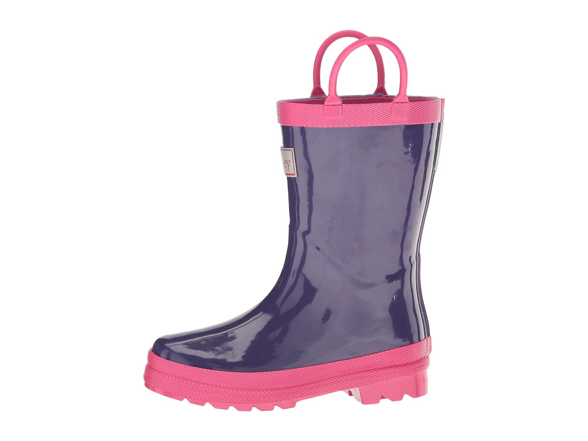 Hatley Kids Pink Purple Rain Boots Toddler Little
