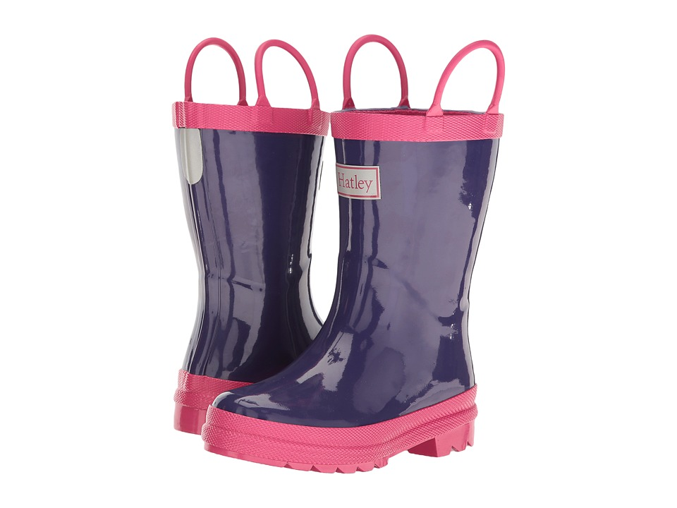 Hatley Kids - Pink Purple Rain Boots