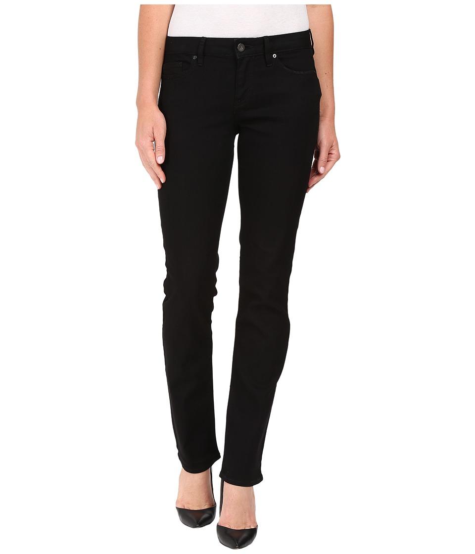 Calvin Klein Jeans Straight Jeans in True Black (True Black) Women