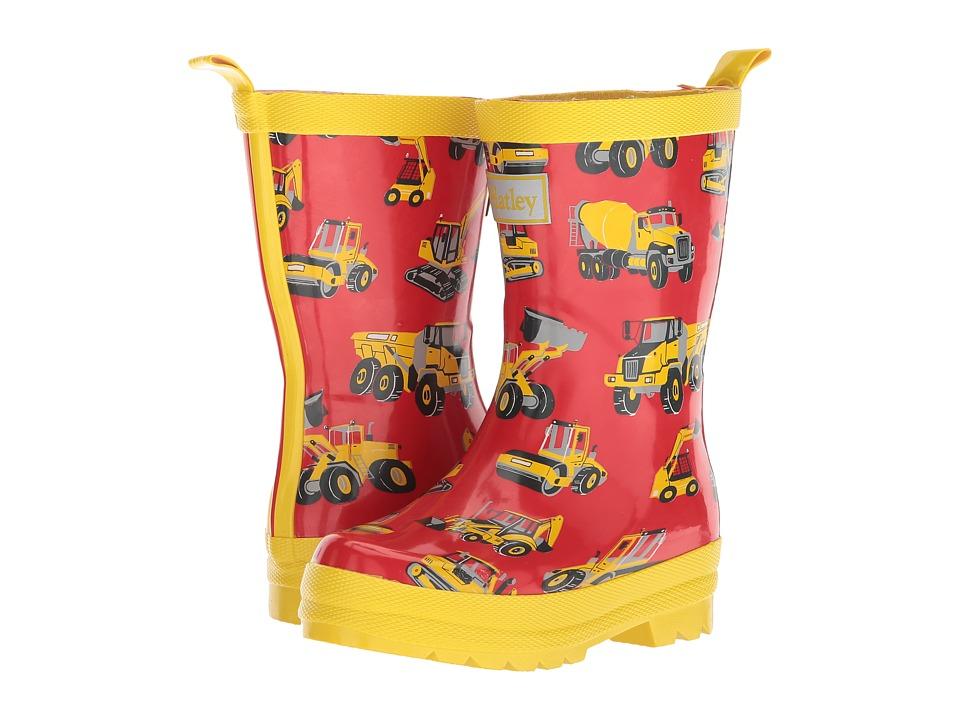 Hatley Kids - Heavy Duty Machines Rain Boots