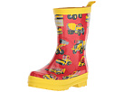 Hatley Kids Heavy Duty Machines Rain Boots (Toddler/Little Kid)