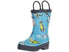 Hatley Kids - Roaring Trex Rain Boots (Toddler/Little Kid)