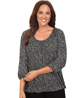 MICHAEL Michael Kors - Plus Size Greer Tweed Peasant Top