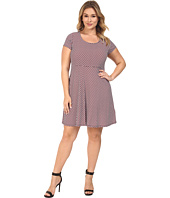 MICHAEL Michael Kors - Plus Size Esher Cap Sleeve Dress