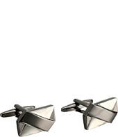 Stacy Adams - Rectangle Cuff Link with Soft X Pattern