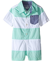 Tommy Hilfiger Kids - Pieced Poplin Shortall (Infant)