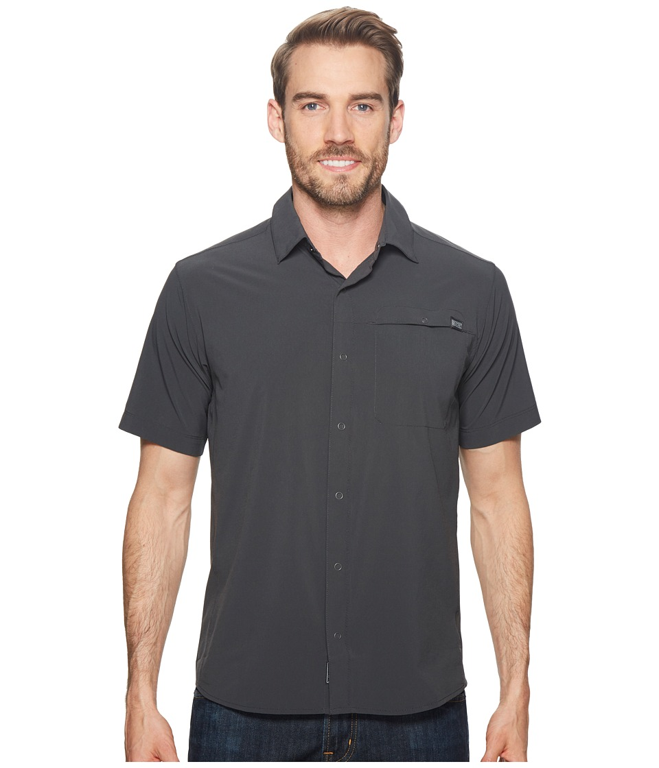 Outdoor Research - Astroman S/S Shirt (Charcoal) Mens Short Sleeve Button Up