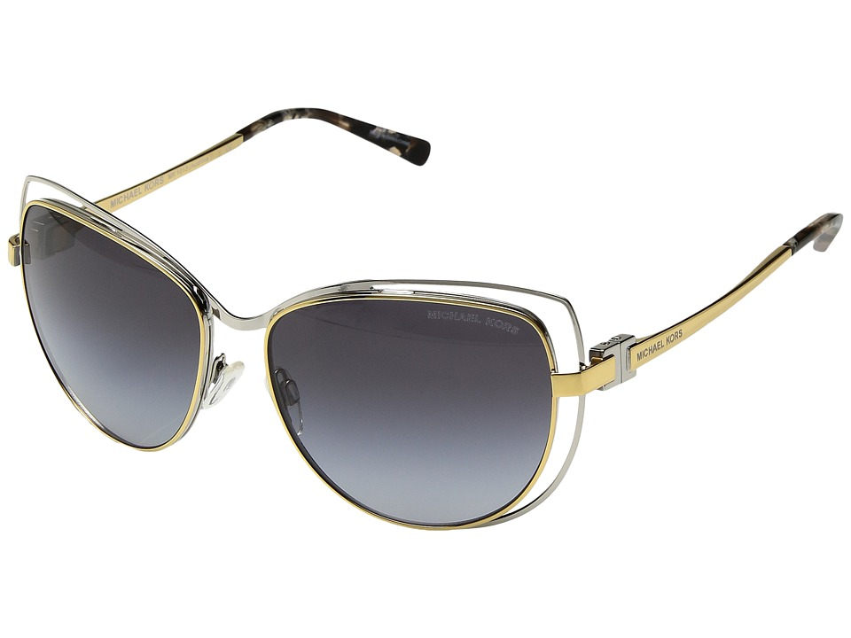 Michael Kors - 0MK1013 (Silver/Gold) Fashion Sunglasses