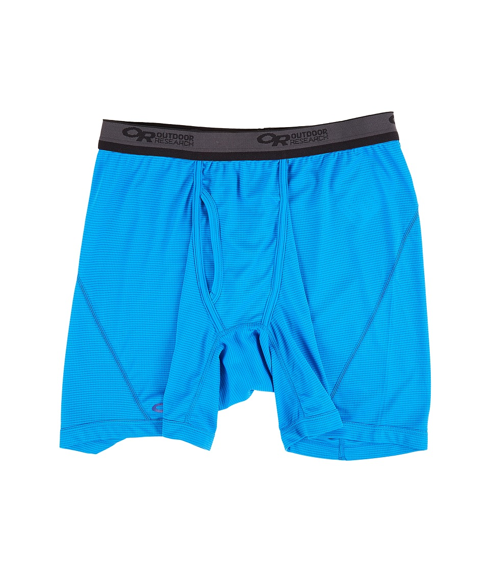 Outdoor Research Echo Boxer Briefs (Glacier/Baltic) Men