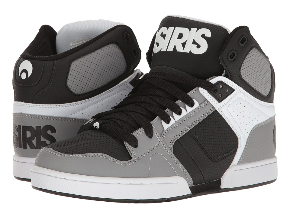 Osiris NYC83 (Grey/White/Black) Men