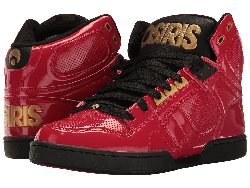 Osiris NYC83 (Red/Gold/Black) Men