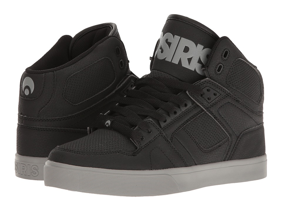Osiris NYC83 VLC (Black/Grey/Black) Men