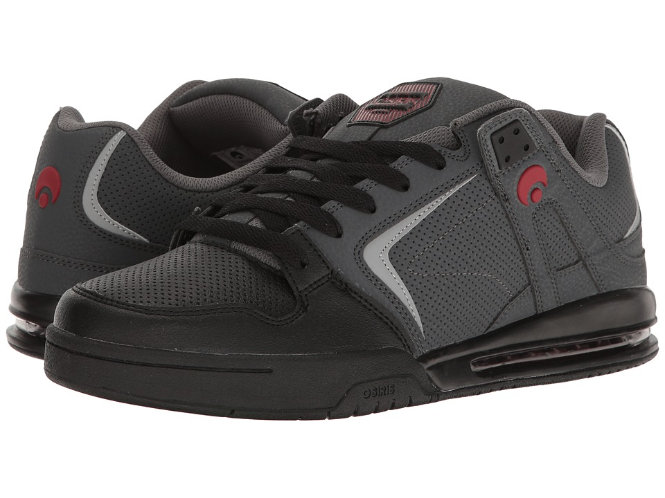 Osiris PXL (Charcoal/Black/Red) Men