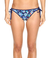 Tommy Bahama - Folk Floral Reversible Loop-Tie Hipster Bikini Bottom