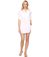 Tommy Bahama - Crinkle Cotton Popover Dress Cover-Up