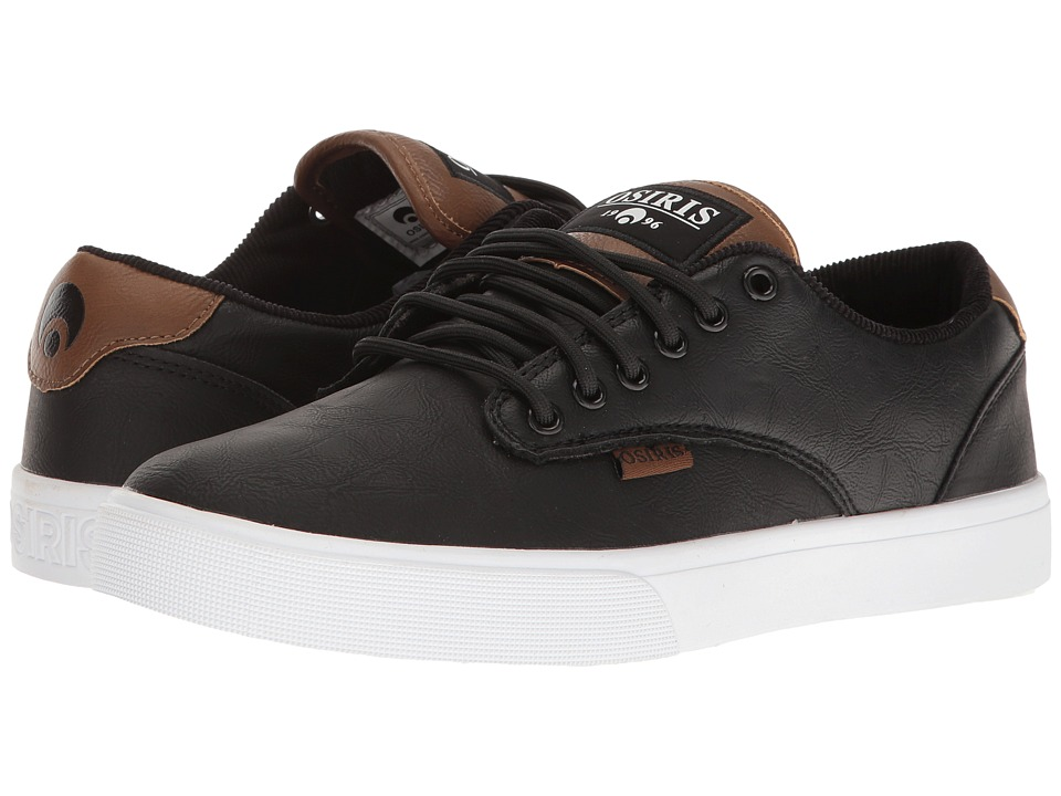 Osiris Slappy VLC (Black/White/Brown) Men