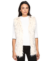 Via Spiga - Faux Fur Tripped Vest