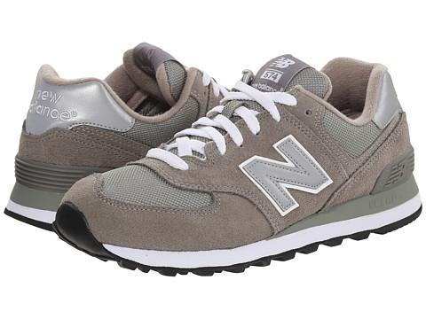 womens new balance 574 core grey